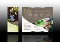 Memorial Pamphlets Samples Memorial Brochure Template Best Samples Templates