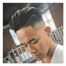 disconnected undercut with comb over and hair design hairstyles