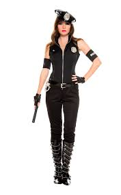 Cops Halloween Costumes Cops Bombshell Woman Police Costume 57 99 Costume Land