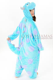 Monsters Inc Costumes Monsters Inc Sulley Onesie Kigurumi Costume