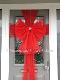 buy big outdoor bows for events by personalised
