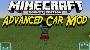 minecraft car pe 0 10 5 advanced car mod minecraft pocket edition mcpe mod showcase