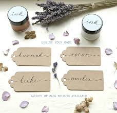 Design Your Own Place Cards Name Tag Place Card Wedding Card Handwritten Wedding Favour