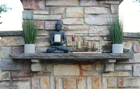 decorating an outdoor fireplace mantel pearls to a picnic
