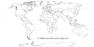 free printable world map coloring pages for kids in of the map