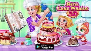 cake maker real cake maker 3d tabtale