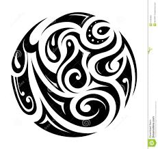14 circle tribal vector images tribal circle designs