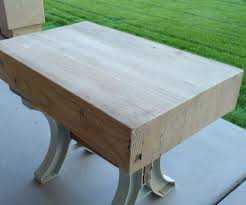 child u0027s workbench bench top 2 glulam beam 6 steps with pictures