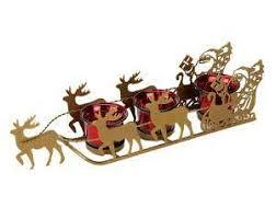 outdoor santa sleigh ebay