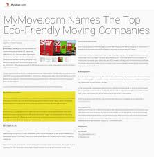furniture company names top eco friendly moving companies in the country