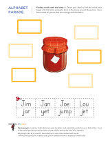 letter j worksheets sparks