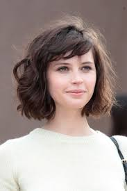 cute short haircuts for thick curly hair 14 best wavy short hairstyles images on pinterest hairstyles