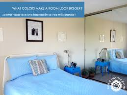 what colors make a room look bigger live colorful