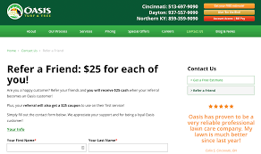 Landscaping Lawn Care by Customer Referral Programs Tips U0026 Examples For Landscaping Lawn
