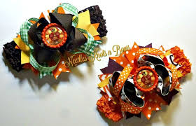 thanksgiving hair bows thanksgiving hair bow set turkey hair bow the top turkey