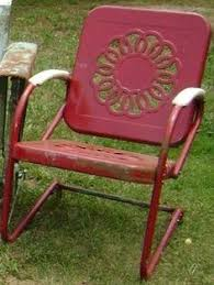 Early Spring Outdoor Chores Metal Furniture Furniture - Antique patio furniture