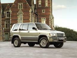 isuzu trooper generations technical specifications and fuel economy