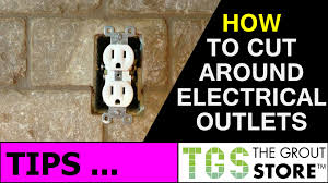 How To Install Tile Backsplash In Kitchen Kitchen Backsplash How To Cut Tile Around Electrical Outlets Youtube