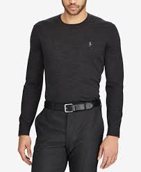 ralph sweater polo ralph s merino wool crew neck sweater sweaters