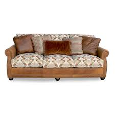 fabric and leather sofa leather sofas contents interiors