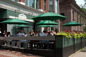 Restaurant Patio Dining Patio Dining In The Bean U2013 Make It A Healthy Spring 2014 Raising