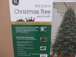 pre lit tree get prelit led sale clearance9