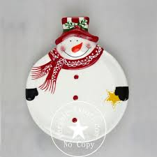 wholesale christmas ceramic plate factory buy dolomite plate on ceramic export