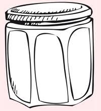 confiture de vacances dessin animée un jeu de coloriage