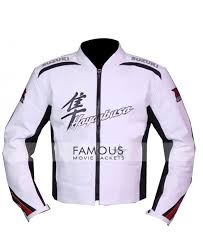 leather motorcycle jackets for sale buy online suzuki hayabusa white racing biker leather jacket sale