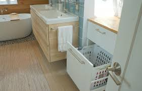 pull out baskets for bathroom cabinets baths studiohoff architecture denver colorado residential