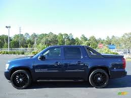 2004 2009 chevrolet avalanche dark blue metallic paint