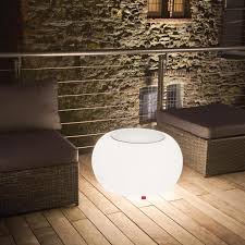 Wohnzimmer Lampe Bubble Bubble Led Accu Outdoor Beistelltisch Moree Ambientedirect Com