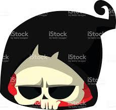Halloween Vector Images Cartoon Death Head Icon Halloween Vector Icon Of Death Skull Stock