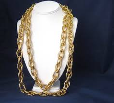 large gold link necklace images 42 big chain link necklace 8mm 24k yellow gold filled 236quot jpg