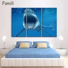 online get cheap decor wall art sharks aliexpress com alibaba group