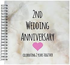 second year wedding anniversary 3drose db 154429 2 2nd wedding anniversary gift cotton
