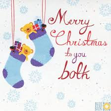 merry to you both card by blue eyed sun