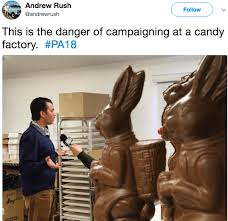 Chocolate Bunny Meme - donald trump jr standing next to chocolate bunny gets the meme