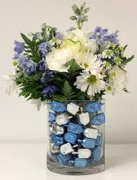 hanukkah decorations diy floral hanukkah centerpiece idea petal talk
