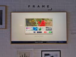samsung frame tv doubles as artwork hands on photos business
