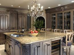 distressed kitchen islands distressed kitchen cabinets of best colors for distressed