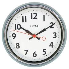 buy leni essential wall clock slate online purely wall clocks
