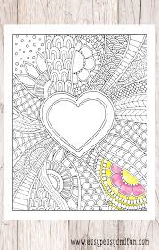 easy peasy coloring page doodle heart coloring page easy peasy and fun