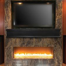 pearl mantels shop pearl mantels winchester 48 in w h x 9 in d ebony wash oak