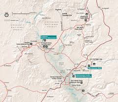 Arizona Strip Map by Jerome Arizona Ruins Tuzigoot National Monument Hubpages