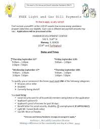 light bill assistance programs free light and gas bill payments robbins community help agency inc