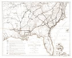 Southeastern United States Road Map by Mapping Georgia
