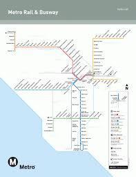 New York Rail Map by The Los Angeles Metro Is Great U2013 So Why Aren U0027t People Using It
