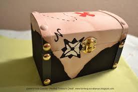 kim ferguson u0027s paper crafting blog painted treasure chest
