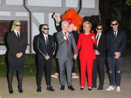 little bill halloween costume katy perry goes incognito as hillary clinton while beau orlando